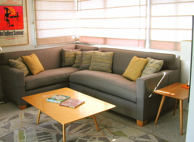 Mid-Century Modern View House - Contemporary - Living Room - los angeles - by Kathryn Waltzer