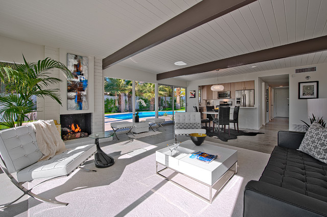 Mid Century Palm Springs Modern Living Room Other By Ndc Homes Inc Houzz Au