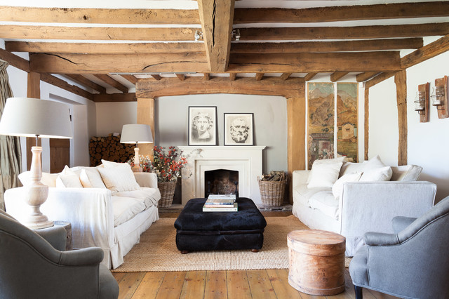 Ideas To Steal From Your Fantasy Holiday Cottage Living Room Houzz Uk