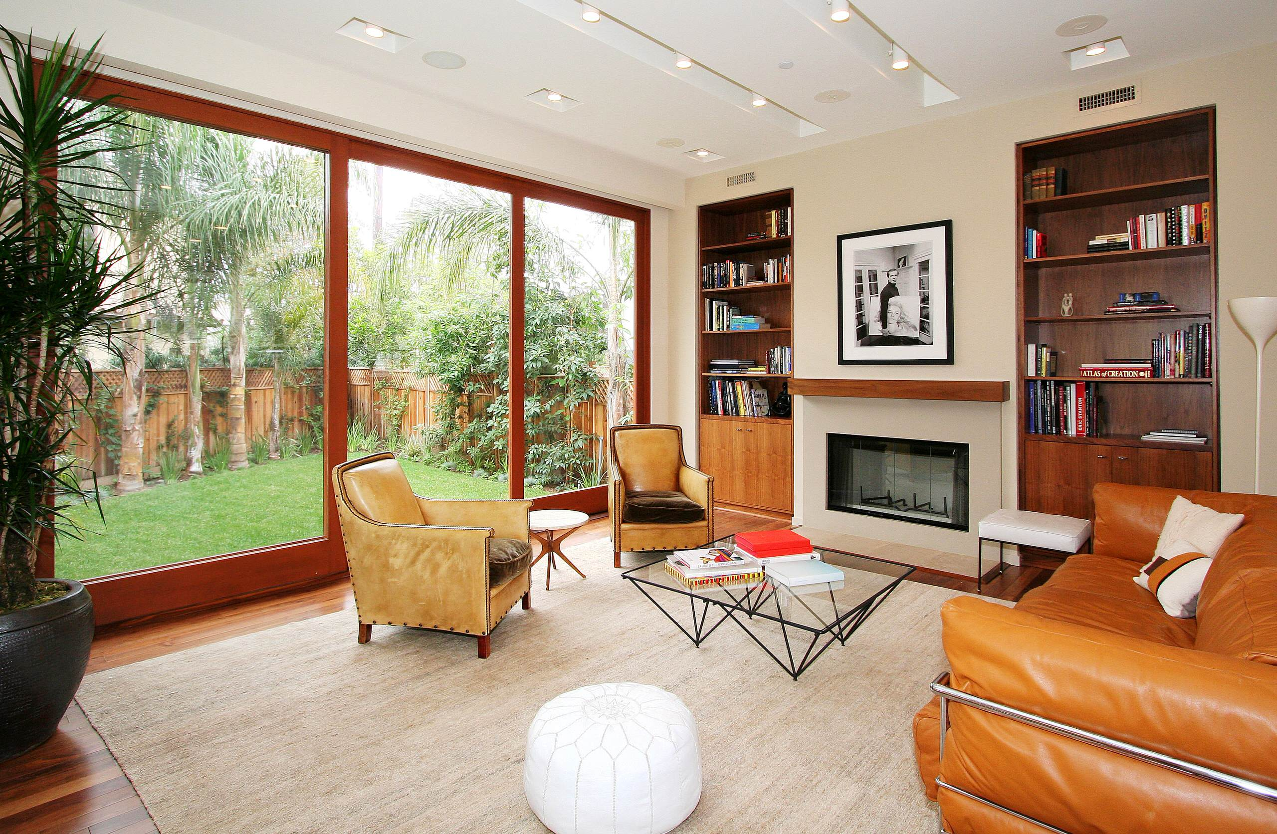 Image of: Built In Bookcase Midcentury Houzz