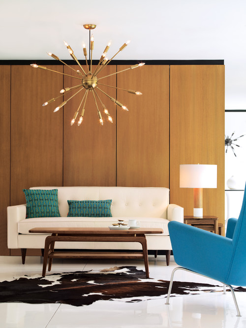 Color Palettes For A Midcentury Modern