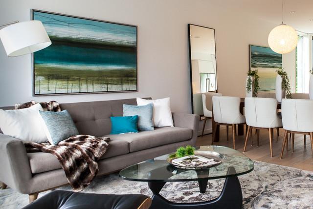Midcentury Modern Living Room Modern Living Room San