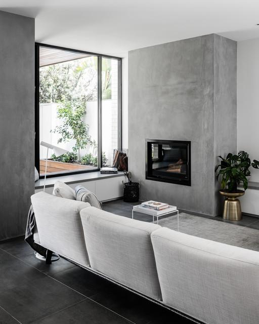 Middlepark Residence contemporary-living-room