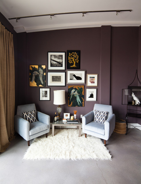 What Goes With Purple Walls