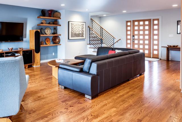 Midtown Modern - Contemporary - Living Room - Kansas City - by ...