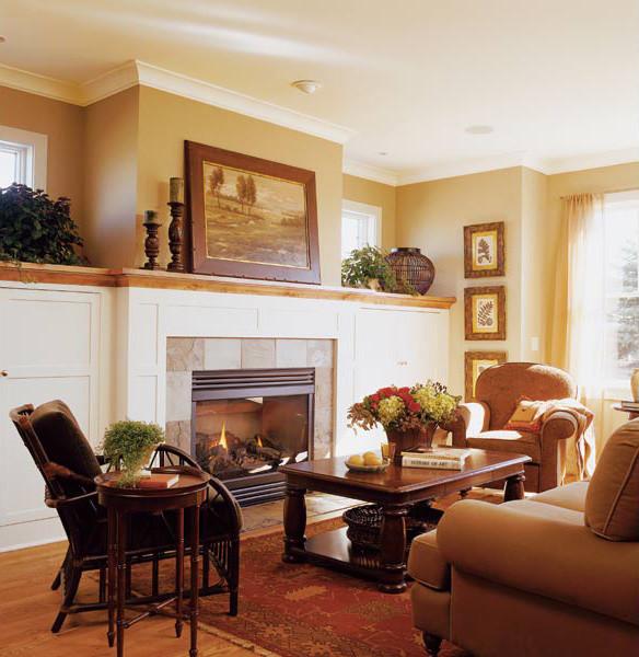 Houzz Farmhouse Living Room: Midwest Living Idea House 2003