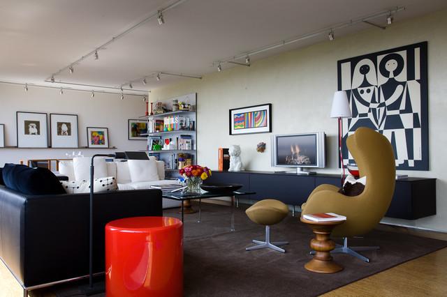 Mies Van der Rohe - Condo - Highfield House contemporary-living-room