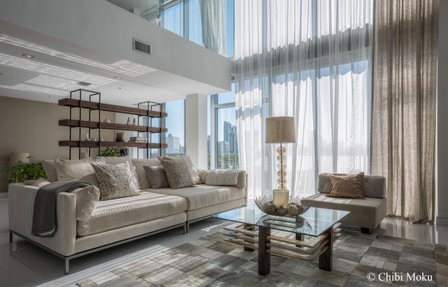 Mila Design - Miami, Florida eclectic-living-room