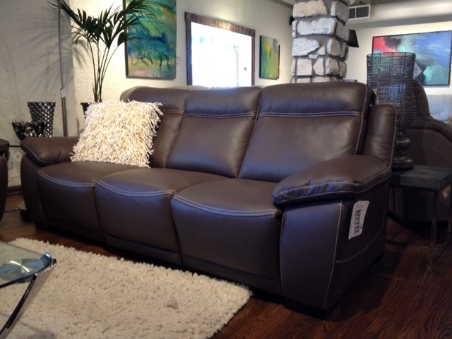 Milan By Natuzzi Reclining Sofa Austin Houston Modern Living Room Town Country Leather