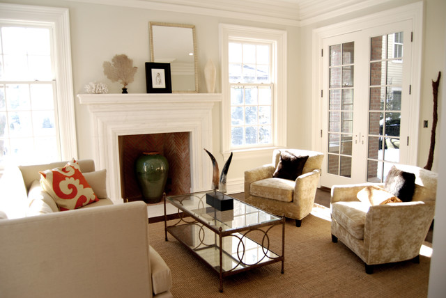 Milbank Townhomes Traditional Living Room New York