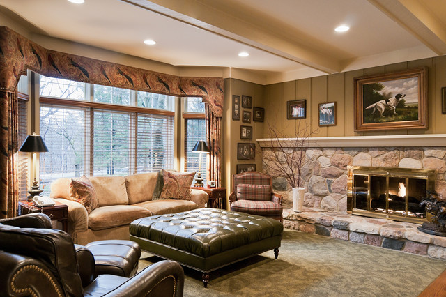 Milen traditional-living-room