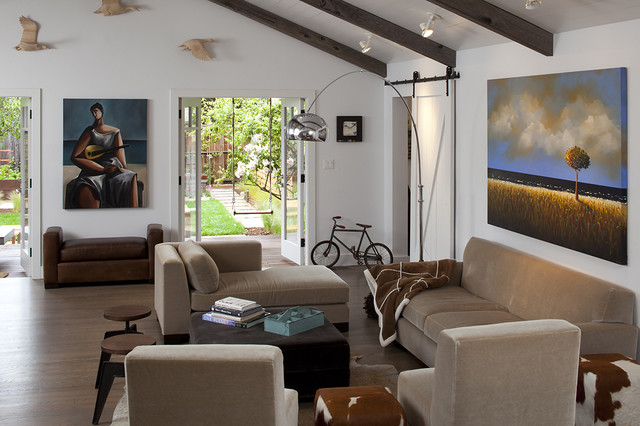 Mill Valley contemporary-living-room