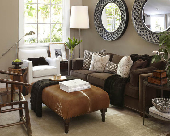 images about brown furniture / living room on   grey, Living room