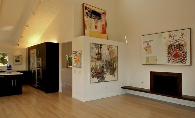 Mill Valley Renovation modern-living-room