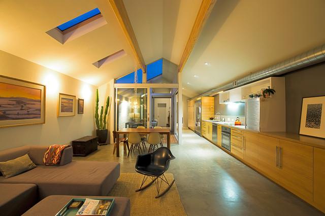 miller residence minimalistisch wohnbereich san diego von architects magnus. Black Bedroom Furniture Sets. Home Design Ideas