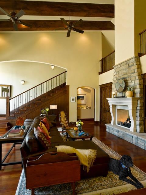 Miller Residence traditional-living-room