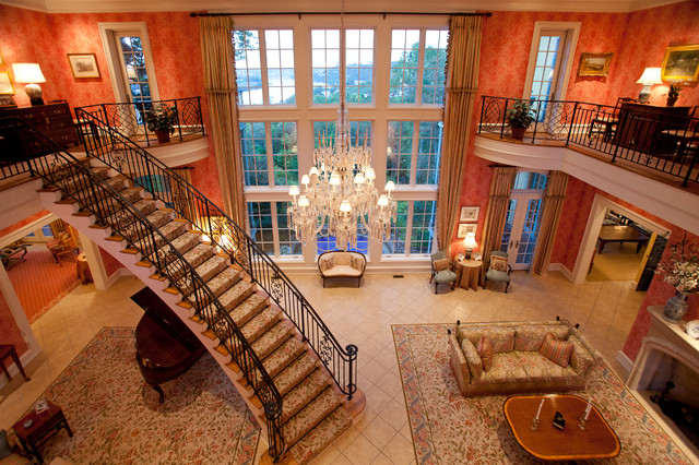 Million Dollar Entry Room Traditional Living Room Cincinnati By Rvp Photography