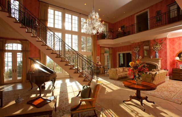 Million Dollar Entry Room - Traditional - Living Room ...