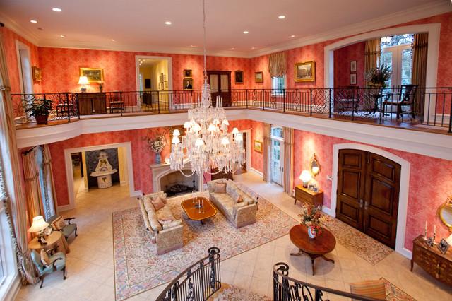Million Dollar Entry Room Traditional Living Room Cincinnati By Rvp Photography