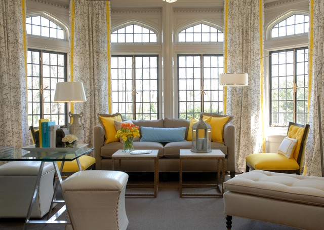 Millneck Showhouse contemporary-living-room