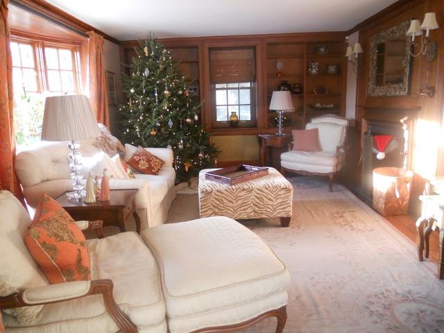 Milton Residential Renovation traditional-living-room