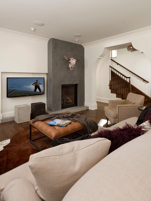 Minneapolis Modern Tudor Transitional Living Room  : transitional living room from www.houzz.com size 480 x 640 jpeg 76kB