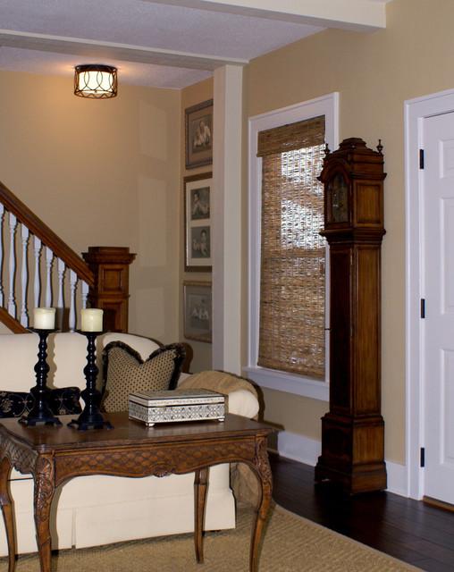Houzz Cottage Living Room: Minnetonka Lake Cottage