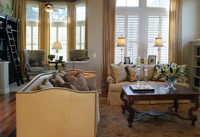 Minnetonka Residence traditional-living-room