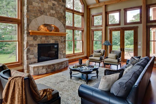 Minnetrista traditional-living-room