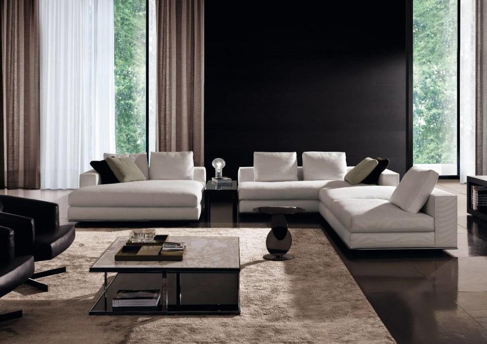 Minotti Modern Living Room Minneapolis By Dom