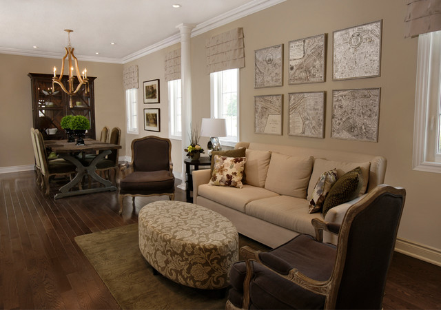 Minto communities model homes credit ridge site in brampton for Model living room ideas