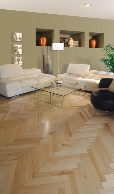 Mirage Maple Herringbone Natural Engineered Hardwood