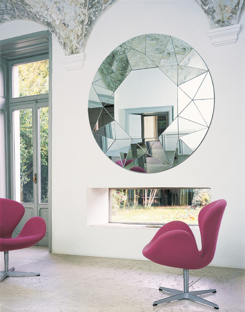 Awesome Contemporary Mirrors For Living Room
