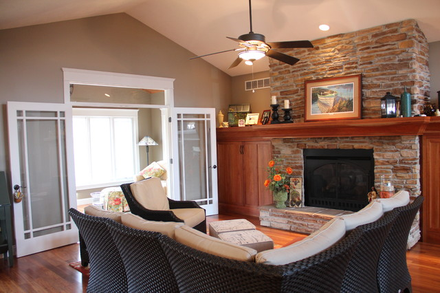 Misc. Projects rustic-living-room