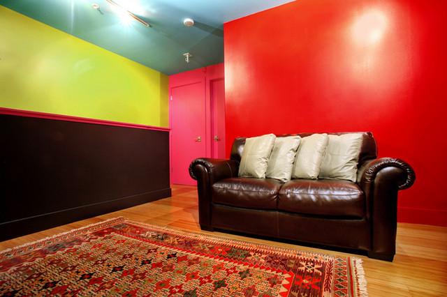 MIssion Loft living-room