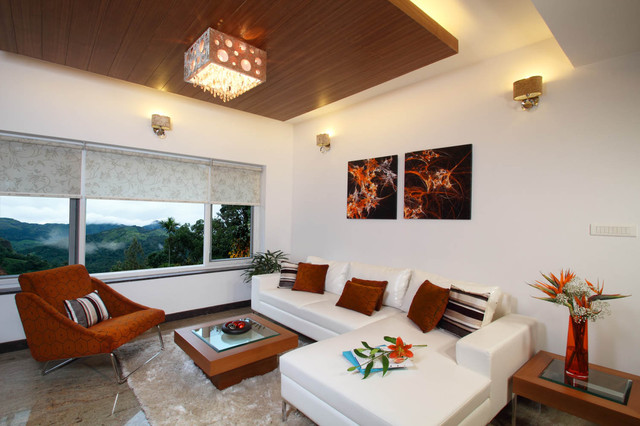 Misty Haven Villa contemporary-living-room