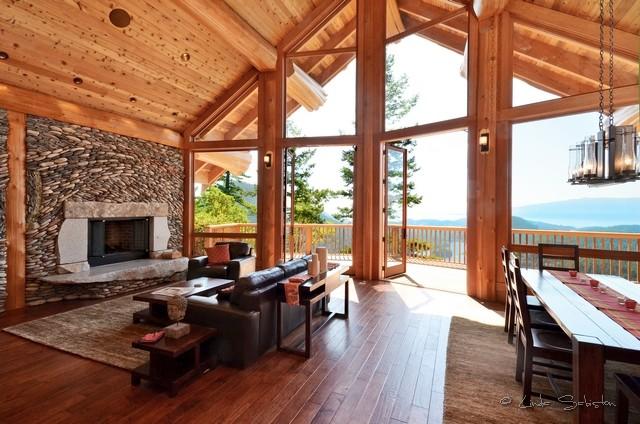 Mixal Heights Post And Beam Minimalistisch Wohnbereich Vancouver Von Streamline Design Ltd Kevin Simoes