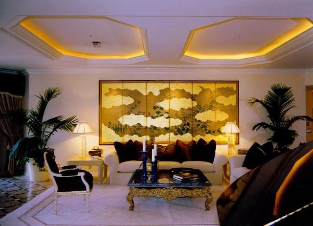 Mizuno Remodel contemporary-living-room