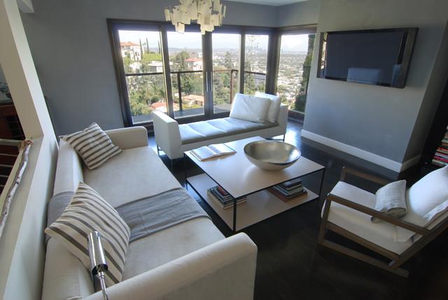 MJ Lanphier contemporary-living-room