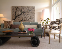 MJ Lanphier eclectic living room