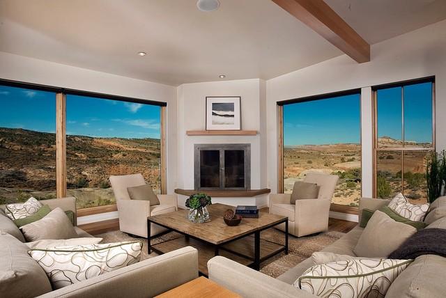 Moab Utah Vacation Home Southwestern Living Room