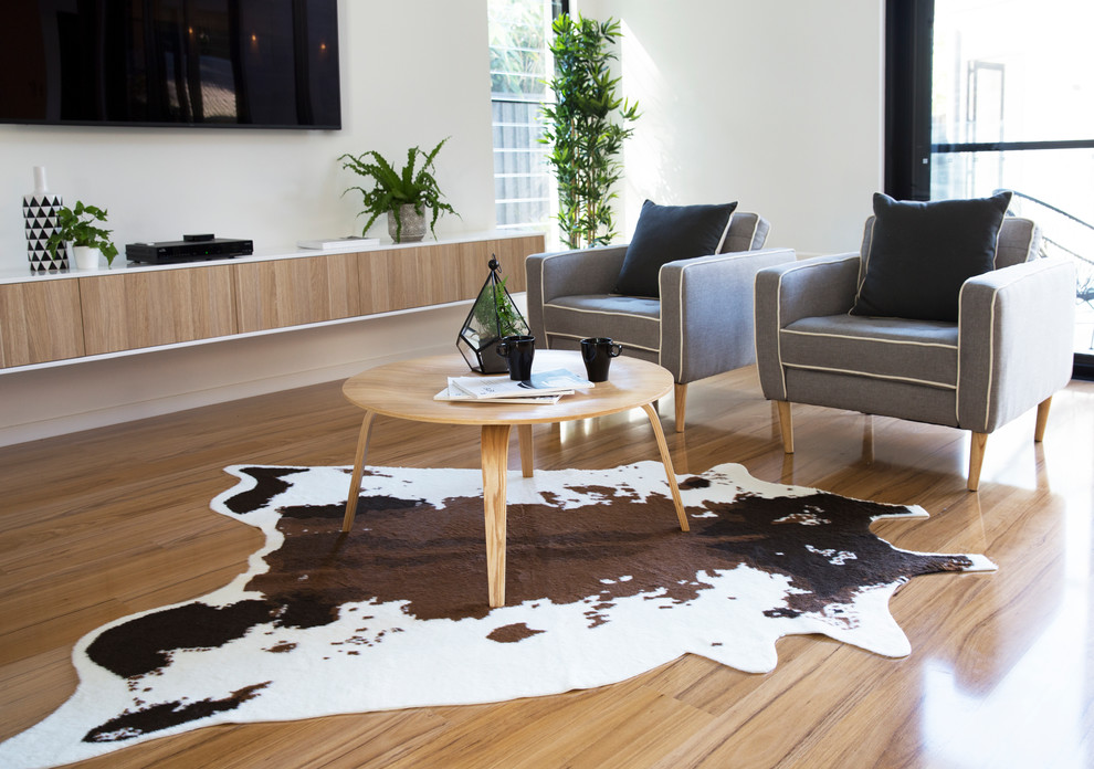 Mocka Faux Cowhide Rug Rustic Living Room Christchurch By Mocka New Zealand