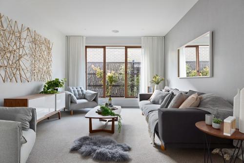 Ideas de decoraci n c mo usar el beige y el gris para for Con que color combina el beige en paredes