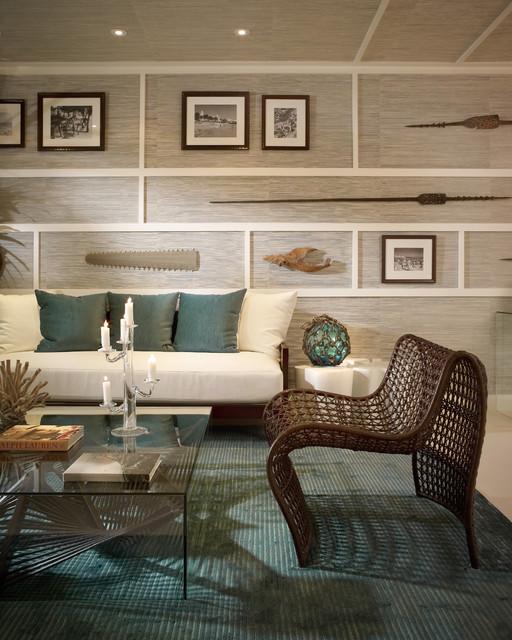 Model Residences at the St. Regis Resort, Bal Harbour tropical-living-room