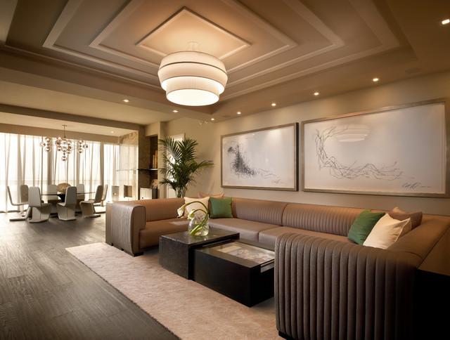 Model Residences at the St. Regis Resort, Bal Harbour eclectic-living-room
