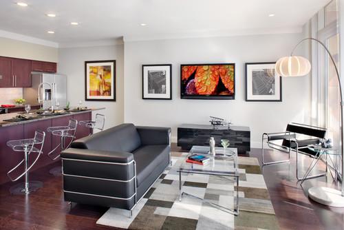 Model Three- Living Room
