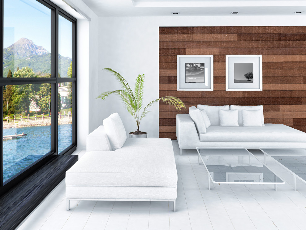 Rustic Barn Wood Accent Wall, Wood Accent Walls In Living Room