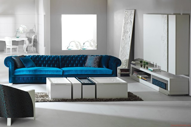 Modern and contemporary sofas and sectionals eclectic for Modern eclectic furniture