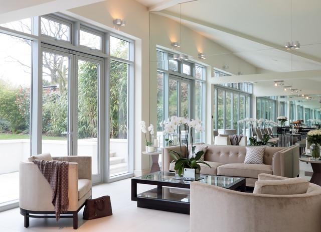Modern and sleek contemporary living room other for Modern sleek living room