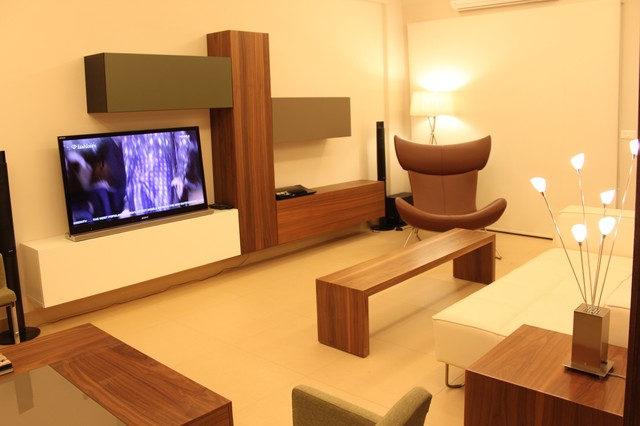 Modern Appartment in Beirut modern-living-room